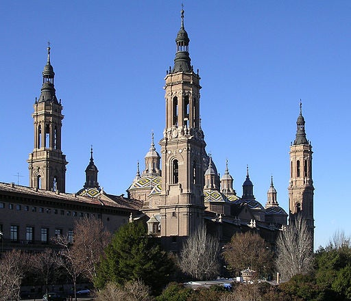 Basílica de Nuestra Señora del Pilar.