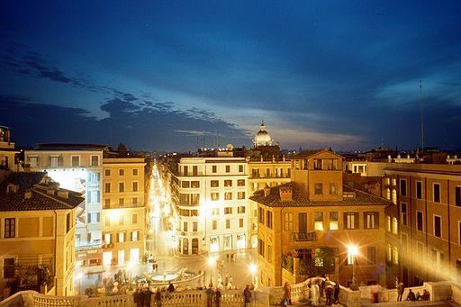 Roma, en Italia.