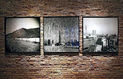 Obras de Ziad Antar, artista libanés.