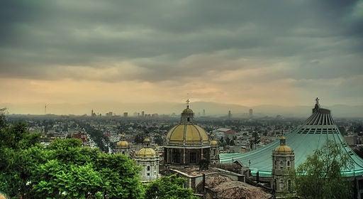Basílica de Santa María de Guadalupe.