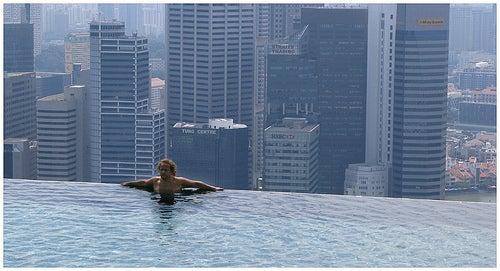 Infinity Pool, en Singapur.