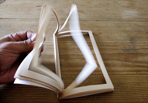 """Libro"", obra de Tony Cruz Pabón, artista portorriqueño."