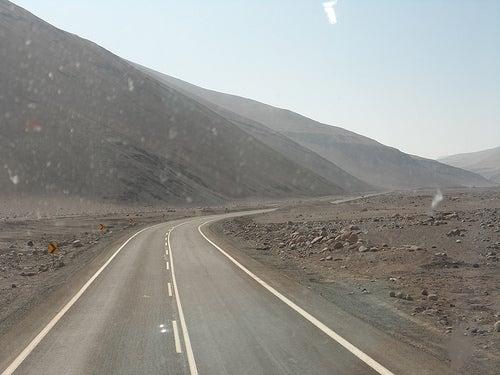 La Ruta 5, en Chile.