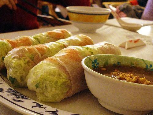 Goi Cuon, una delicia vietnamita.