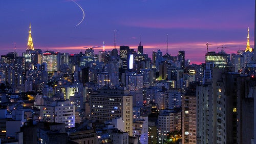 La ciudad de Sao Paulo, un lugar fundado por misioneros jesuitas