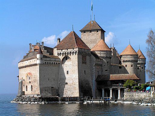 El Castillo de Chillón, en el Lago Leman