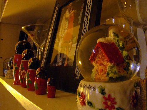Los souvenirs suelen ser miniaturas de objetos típicos.