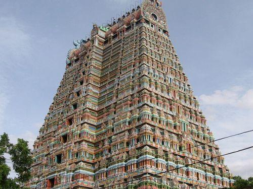 Templo Vishnu de Srirangam