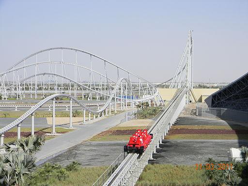 El Ferrari World, en Abu Dhabi