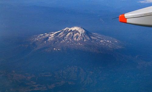 Un volcán, como para postal