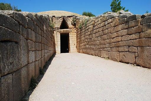 Tesoro de Atreo, en Grecia