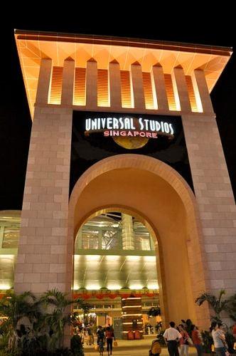El Universal Studios Singapore