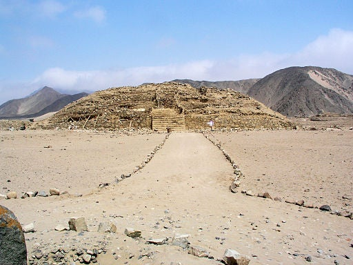 Caral, en Perú