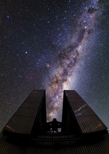 La imponencia de la Vía Láctea