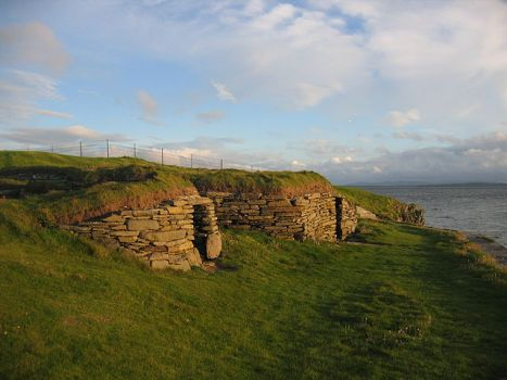 Knap de Howar, en Escocia