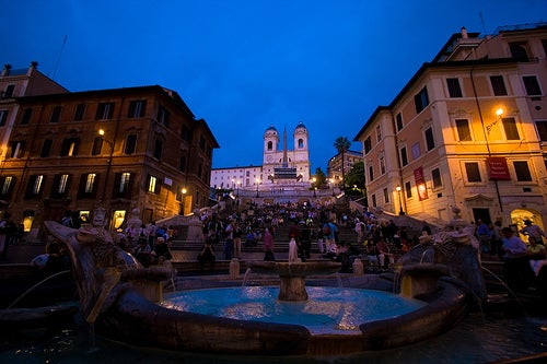 La Plaza de España en Roma, monumental por excelencia