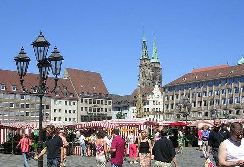plaza-del-mercado-nuremberg
