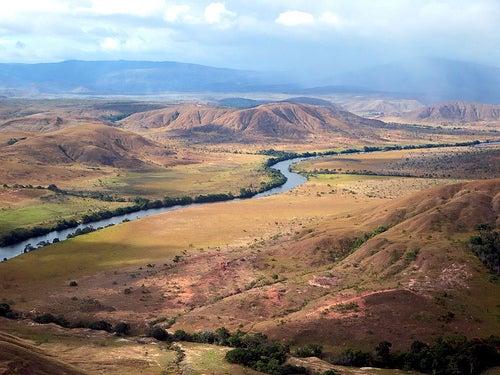 Uno de los muchos ríos de Guyana