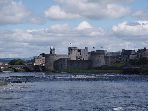 El Castillo del Rey Juan, en Limerick