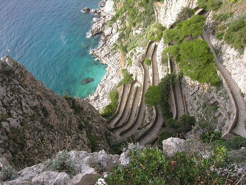 La Vía Krupp, en Capri