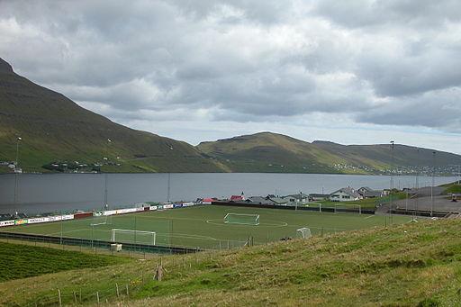 Estadio en las Islas Feroe