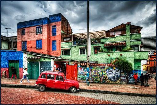 La Candelaria, en Bogotá