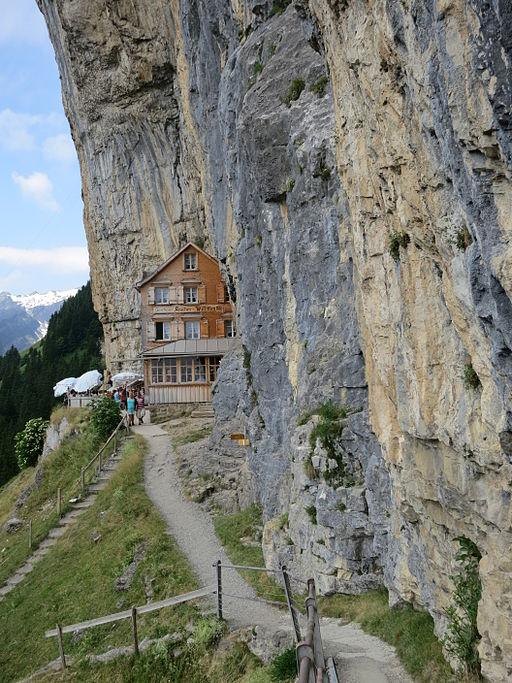 Sendero de Edenalp, en Suiza