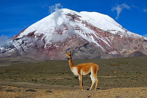 El Chimborazo, en Ecuador