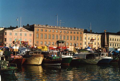 Plaza de Mercado de Helsinki
