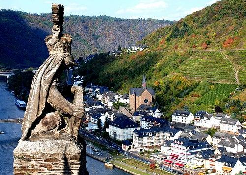 La ciudad de Cochem en Alemania, un paisaje idílico