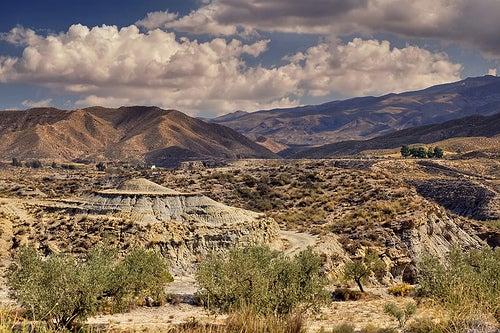 El desierto de Tabernas, un desierto de película