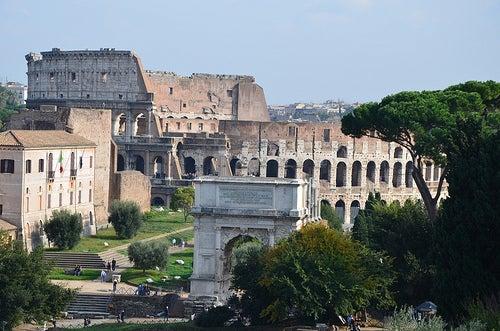 El Monte Palatino, la cuna del Imperio Romano