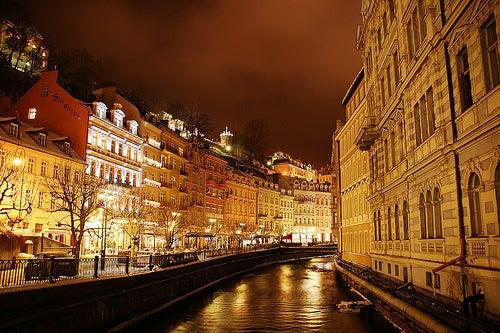 Las aguas curativas de la ciudad de Karlovy Vary