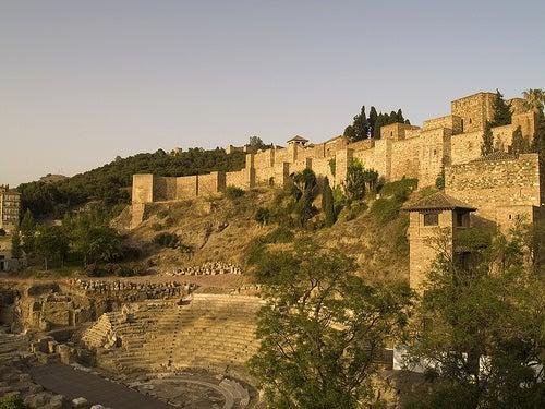 alcazaba y teatro de malaga