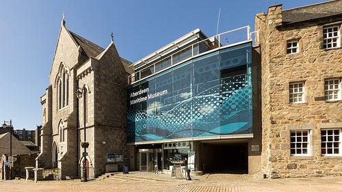 ciudad aberdeen museo maritimo