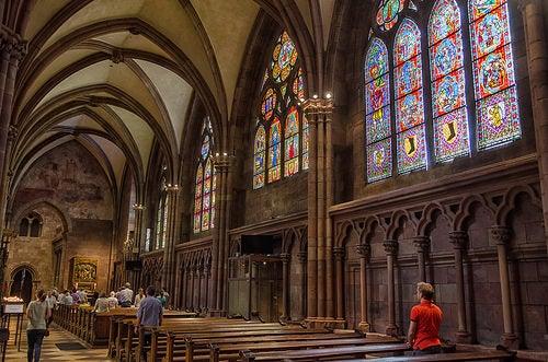 ciudad de friburgo catedral