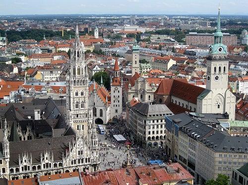 La ciudad de Munich, lugares de ensueño
