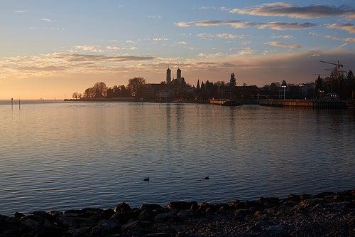 El lago Constanza, un paisaje idílico en Alemania