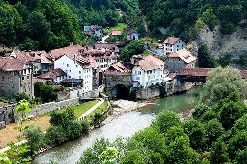 friburgo en suiza basse ville