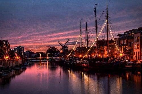 Leiden en Holanda, la ciudad de los canales y de los museos
