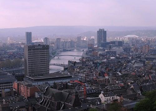 Lieja en Bélgica, la ciudad de fuego
