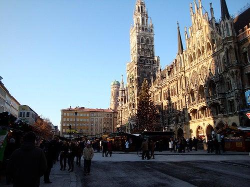 marienplatz ciudad de munich