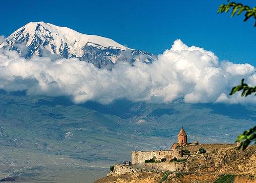 La atractiva ciudad de Ereván, la capital de Armenia