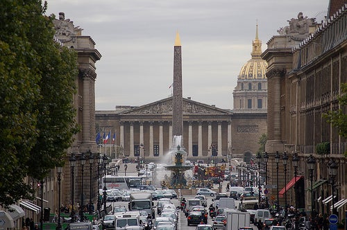 Plaza de la Concordia en París, un viaje al pasado de Francia