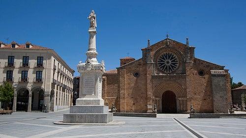 plaza de santa teresa avila