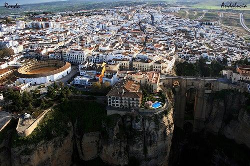 La ciudad de Ronda en Málaga, un lugar con encanto