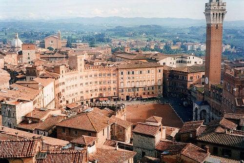La ciudad de Siena, una de las más bonitas de la Toscana