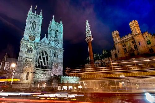La Abadía de Westminster, lugar de coronación de los reyes de Inglaterra