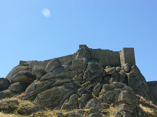 castillo aldea de monsanto