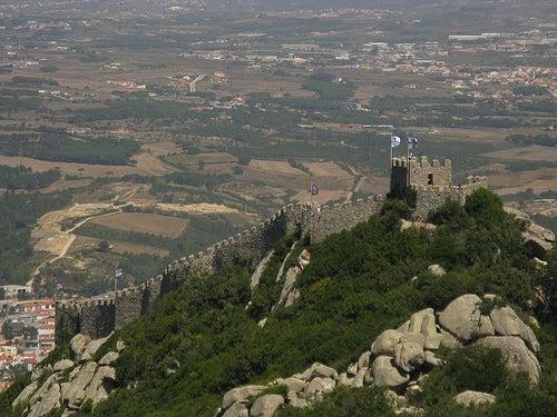 castillo de los moros ciudad de sintra
